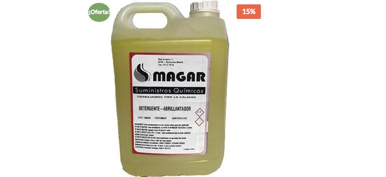 Detergente Y Abrillantador 2 En 1 60/50