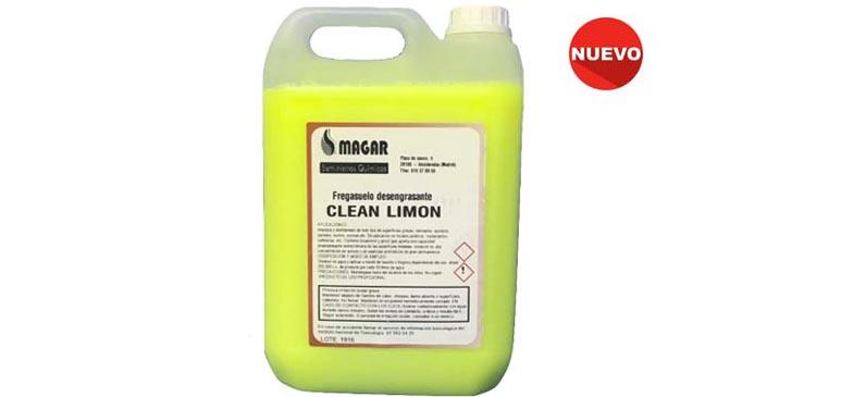 Detergente Clean Lemmon