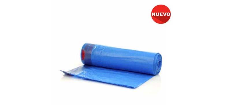 Bolsa Pequeña 55×55 Azul Autocierre (Galga 60)