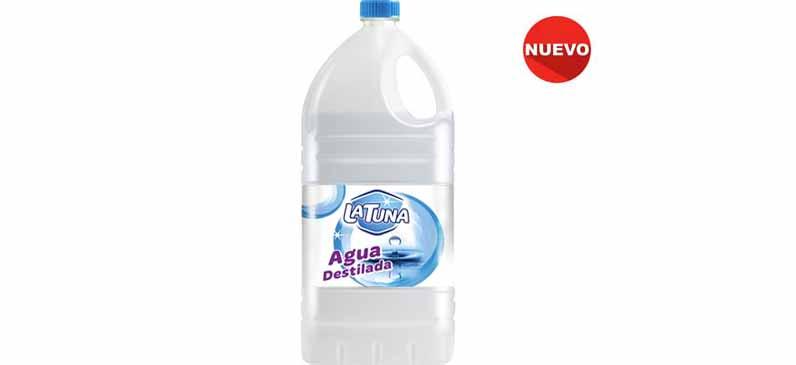 "Agua Destilada ""La Tuna"" (3x5Lit)"