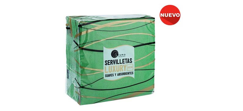 Servilleta 40×40(Verde/Amarilla/Marron)