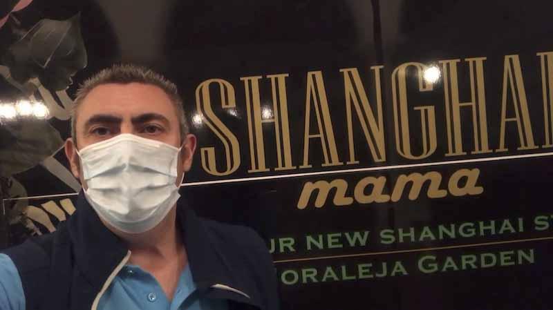 Desinfección del Restaurante Shanghai Mama de la Moraleja